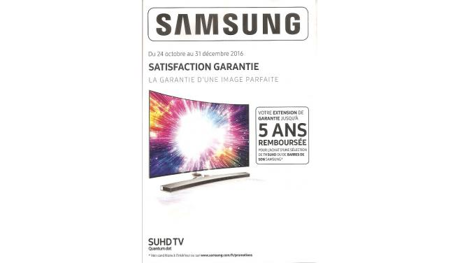Promotion Samsung